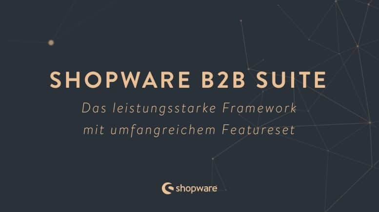 Shopware B2B-Suite Banner